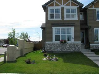 Photo 1: 71 EVERSYDE Heath SW in CALGARY: Evergreen Residential Attached for sale (Calgary)  : MLS®# C3507346