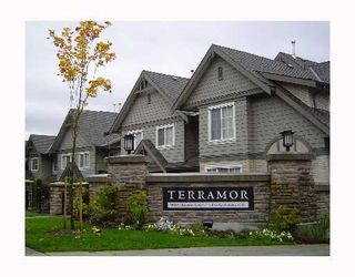 "Photo 1: 82 9088 HALSTON Court in Burnaby: Government Road Townhouse for sale in ""TERRAMOR"" (Burnaby North)  : MLS®# V962048"