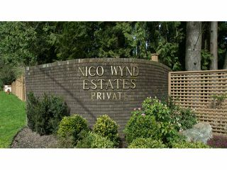 """Photo 1: 8 14085 NICO WYND Place in Surrey: Elgin Chantrell Condo for sale in """"NICO WYND ESTATES"""" (South Surrey White Rock)  : MLS®# F1310137"""