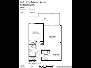 Photo 18: 213 2333 TRIUMPH Street in Vancouver: Hastings Condo for sale (Vancouver East)  : MLS®# R2413119