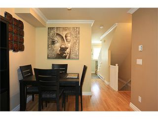 "Photo 6: 25 1561 BOOTH Avenue in Coquitlam: Maillardville Townhouse for sale in ""The Courcelles"" : MLS®# V1026526"