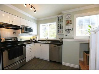 "Photo 4: 25 1561 BOOTH Avenue in Coquitlam: Maillardville Townhouse for sale in ""The Courcelles"" : MLS®# V1026526"