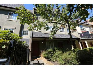 "Photo 1: 25 1561 BOOTH Avenue in Coquitlam: Maillardville Townhouse for sale in ""The Courcelles"" : MLS®# V1026526"