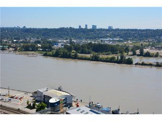 "Photo 2: 3205 898 CARNARVON Street in New Westminster: Downtown NW Condo for sale in ""AZURE 1 @ PLAZA 88"" : MLS®# V1078443"