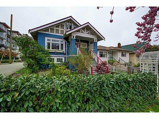 Main Photo: 2878 E East 2nd Avenue in Vancouver: House for sale : MLS®#  V1116618