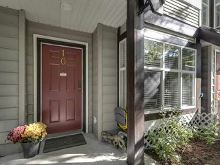 "Photo 1: 10 11757 236 Street in Maple Ridge: Cottonwood MR Townhouse for sale in ""Galiano"" : MLS®# R2409818"