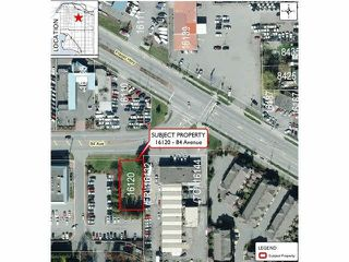 Main Photo: 16120 84 Avenue in Surrey: Fleetwood Tynehead Land for sale : MLS®# R2422236