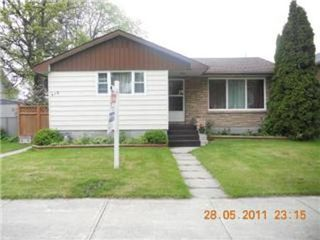 Photo 1: 418 MARJORIE Street in Winnipeg: Farm for sale (Canada)  : MLS®# 1110479