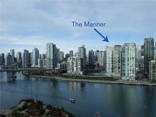 Photo 2: 2505 918 COOPERAGE Way in False Creek North: Home for sale : MLS®# V886803
