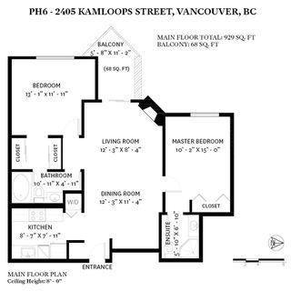 Photo 14: PH6 2405 KAMLOOPS Street in Vancouver: Renfrew VE Condo for sale (Vancouver East)  : MLS®# R2443675