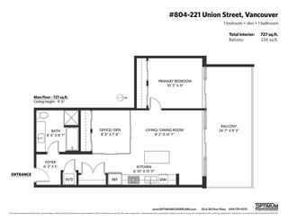 "Photo 31: 804 221 UNION Street in Vancouver: Strathcona Condo for sale in ""V6A"" (Vancouver East)  : MLS®# R2520455"