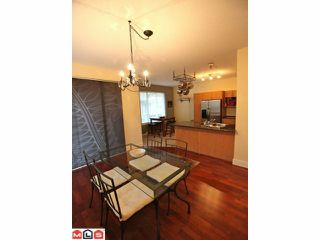 "Photo 3: 68 5839 PANORAMA Drive in Surrey: Sullivan Station Townhouse for sale in ""Forest Gate"" : MLS®# F1205000"