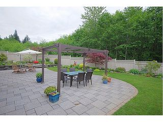 "Photo 10: 1872 HAMPTON GREEN in Coquitlam: Westwood Plateau House for sale in """"HAMPTON ESTATES"""" : MLS®# V953865"