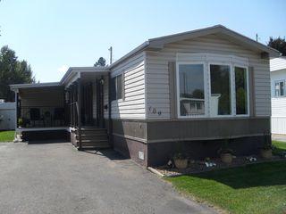 Photo 1: 109 2400 Oakdale Way in Kamloops: Westsyde Manufactured Home for sale : MLS®# 124298