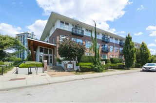 """Photo 1: 310 215 BROOKES Street in New Westminster: Queensborough Condo for sale in """"DUO B"""" : MLS®# R2405651"""