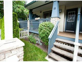 "Photo 16: 15 19250 65TH Avenue in Surrey: Clayton Townhouse for sale in ""Sunberry Court"" (Cloverdale)  : MLS®# F1416410"