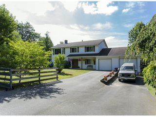 Photo 1: 29086 BUCHANAN Avenue in Abbotsford: Bradner House for sale : MLS®# F1418255