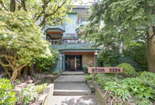 Main Photo: 201 2224 ETON STREET in Vancouver: Hastings Condo for sale (Vancouver East)  : MLS®# R2268450
