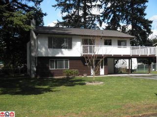 "Photo 1: 20319 39TH Avenue in Langley: Brookswood Langley House for sale in ""BROOKSWOOD"" : MLS®# F1208326"