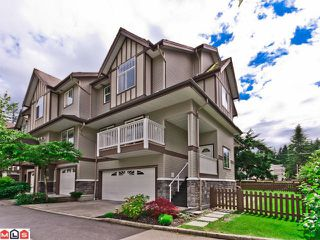 "Photo 1: 60 15133 29A Avenue in Surrey: King George Corridor Townhouse for sale in ""STONEWOODS"" (South Surrey White Rock)  : MLS®# F1217135"