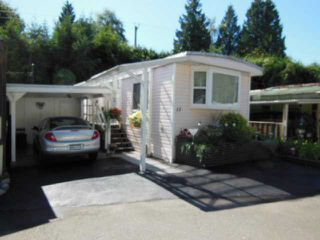 "Photo 3: 15 4200 DEWDNEY TRUNK Road in Coquitlam: Ranch Park Manufactured Home for sale in ""HIDEWAY PARK"" : MLS®# V967893"