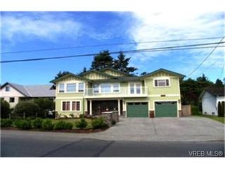 Photo 1:  in VICTORIA: SE Cadboro Bay Single Family Detached for sale (Saanich East)  : MLS®# 398222