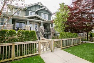 Photo 1: 22 2138 SALISBURY Avenue in Port Coquitlam: Glenwood PQ Townhouse for sale : MLS®# R2263862