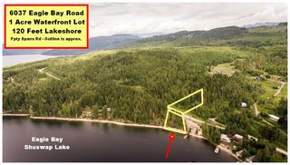Main Photo: 6037 Eagle Bay Road in Eagle Bay: Million Dollar Alley Vacant Land for sale : MLS®# 10163216