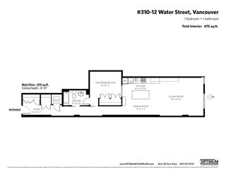 "Photo 20: 310 12 WATER Street in Vancouver: Downtown VW Condo for sale in ""The Garage"" (Vancouver West)  : MLS®# R2412303"
