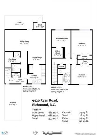 """Photo 20: 9420 RYAN Crescent in Richmond: South Arm Townhouse for sale in """"COUNTRY CLUB ESTATE"""" : MLS®# R2441510"""