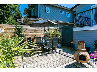 Photo 14: 26 GARDEN Drive in Vancouver: Hastings House 1/2 Duplex for sale (Vancouver East)  : MLS®# V1019374