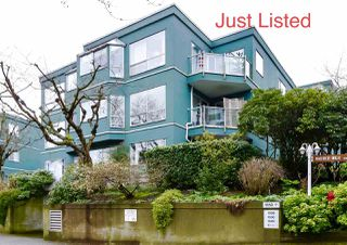 "Photo 1: 303 1550 MARINER WALK in Vancouver: False Creek Condo for sale in ""Mariner Point"" (Vancouver West)  : MLS®# R2441807"