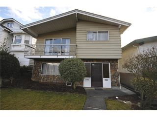 Photo 1: 3490 CAMBRIDGE ST in Vancouver: Hastings East House for sale (Vancouver East)  : MLS®# V1056008