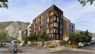 Photo 1: 404 1360 VICTORIA Street in Squamish: Downtown SQ Condo for sale : MLS®# R2478894