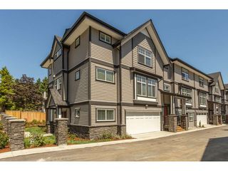 """Photo 1: 1 7740 GRAND Street in Mission: Mission BC Townhouse for sale in """"The Grand"""" : MLS®# R2508688"""