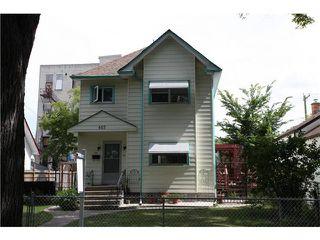 Photo 1: 605 Alverstone Street in WINNIPEG: West End / Wolseley Residential for sale (West Winnipeg)  : MLS®# 1215969