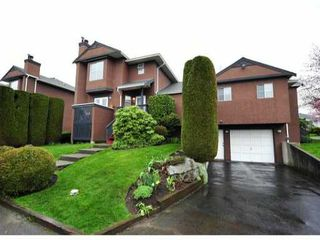 Photo 1: 17 1336 PITT RIVER Road in Port Coquitlam: Citadel PQ Townhouse for sale : MLS®# V1000649