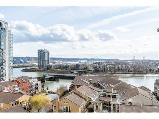 "Photo 1: 1102 1 RENAISSANCE Square in New Westminster: Quay Condo for sale in ""Q"" : MLS®# R2443951"