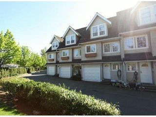 """Photo 1: 11 19948 WILLOUGHBY Way in Langley: Willoughby Heights Townhouse for sale in """"Cranbrook Court"""" : MLS®# F1310001"""