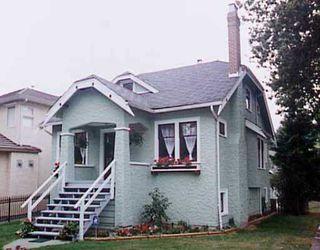 Main Photo: 3205 W 12TH AV in : Kitsilano House for sale : MLS®# V210710