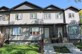 Photo 1: 12406 122 Avenue NW in Edmonton: Zone 04 Townhouse for sale : MLS®# E4172930