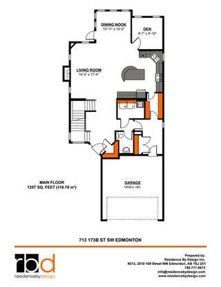 Photo 44: 713 173B Street in Edmonton: Zone 56 House for sale : MLS®# E4200985