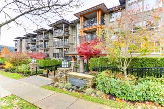 "Photo 1: 414 3178 DAYANEE SPRINGS BL in Coquitlam: Westwood Plateau Condo for sale in ""TAMARACK BY POLYGON"" : MLS®# R2518198"