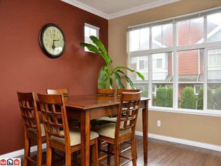 """Photo 5: 53 6785 193RD Street in Surrey: Clayton Townhouse for sale in """"MADRONA"""" (Cloverdale)  : MLS®# F1226686"""