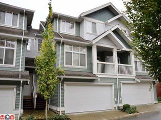 """Photo 1: 53 6785 193RD Street in Surrey: Clayton Townhouse for sale in """"MADRONA"""" (Cloverdale)  : MLS®# F1226686"""
