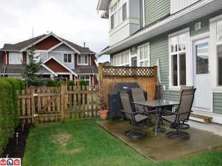 """Photo 10: 53 6785 193RD Street in Surrey: Clayton Townhouse for sale in """"MADRONA"""" (Cloverdale)  : MLS®# F1226686"""