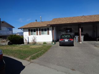 Photo 1: 228 Monashee Place in Kamloops: Sahali House 1/2 Duplex for sale