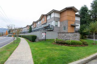 """Photo 1: 88 34248 KING Road in Abbotsford: Poplar Townhouse for sale in """"Argyle"""" : MLS®# R2415451"""
