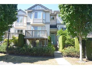"Photo 1: 19 3880 WESTMINSTER Highway in Richmond: Terra Nova Townhouse for sale in ""MAYFLOWER"" : MLS®# V965367"