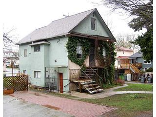 Photo 1: 3625 PRINCE EDWARD Street in Vancouver: Main House for sale (Vancouver East)  : MLS®# V993588